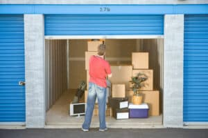 Items to put in storage units moving companies can access when ready to move